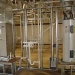 22 - Отверстия под каннализацию и электропроводку в панелях ЛСТК