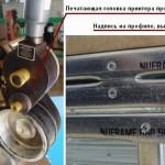 Печатающая головка листогибочного станка ЛСТК
