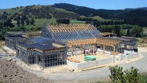 Быстровозводимый дом по технологии ЛСТК