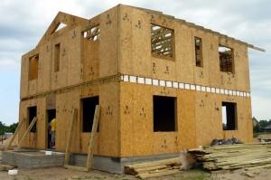 Панельный быстровозводимый дом